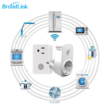 Broadlink smart power socket Sp3 spcc Wireless timer smart plug with memory function Wifi 3G 4G independent rf remote control