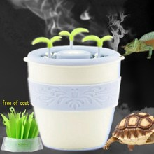 Reptiles Turtle Humidifier Moistening Box For Pet Rearing High Crown Chameleon Atomizer Wetting Silent Automatic Power Off(China)
