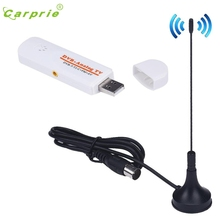 CARPRIE High Quality USB 2.0 TV Stick DVB-T2 DVB-T DVB-C TV Tuner DVB T DVB T2 Analog TV AV FM Free Shipping MotherLander