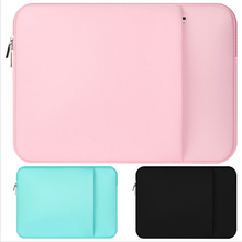 "Portable Zipper Soft Liner Sleeve Laptop Bag Notebook Case Computer Bag Smart Cover 13"" for Macbook Air Pro Retina"