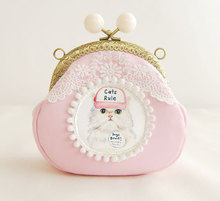 Princess Gothic lolita bag original cat super adorable cute meow star people wrapped in gold Shoulder Messenger Mini bun b0028