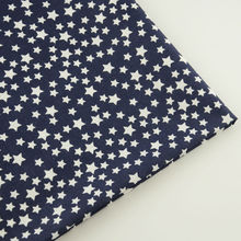 New Arrival Printed White Stars Designs Tecidos Telas100% Cotton Fabric for Doll's DIY Patchwork Sewing Home Textile Fat Quarter
