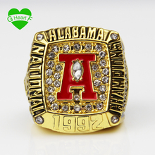 Wholesale New 1992 Alabama Crimson Tide National Championship Ring Replica Size 11 Big Ring Free Shipping