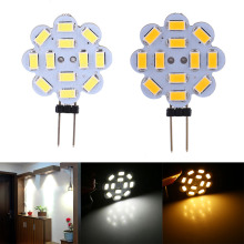 5Pcs/Lot 3W 12V SMD 5730 G4 LED Light Lamp Bulb Indoor Home Use White/Warm White Super Bright Optional(China)