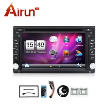 New universal Cheap Car Radios Double 2 din car dvd player Best In Dash Navigation Car PC Stereo Head Unit video+Free Map Card(China)