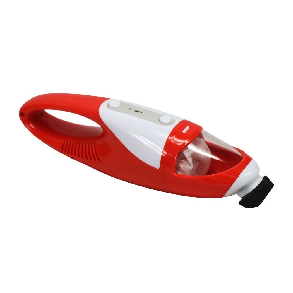 EVERTOP USB Mini Handheld Cordless Vacuum Cleaner 1400 Pa Battery Operated Power Suction Duster(China)