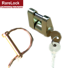 Rarelock MMS450 Trailer Padlock Trailer Pin Hasp Trailer Arm Lock Yacht SUV RV ATV UTV Truck Car Accessories Auto Parts DIY d(China)