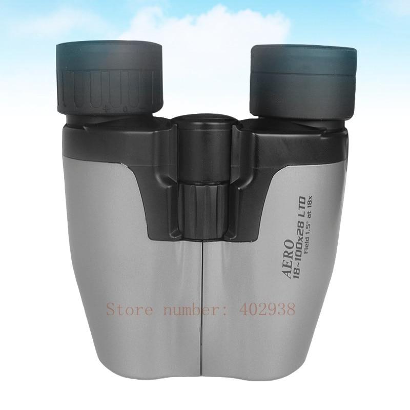 High Power 18-100X28mm Zoom Sports Travel  Binoculars Telescope U1810028A<br><br>Aliexpress