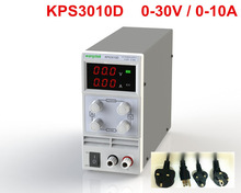 KPS3010D Adjustable High precision double LED display switch DC Power Supply protection function 30V10A 110V-230V 0.1V/0.01A EU(China)
