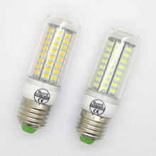 Lowest Price 3W 5W 9W 12W 15W 20W LED E27 SMD5730 Lamp Light AC 220V 5730 Corn Bulb Christmas Chandelier Lights 24 36 48 56LEDS
