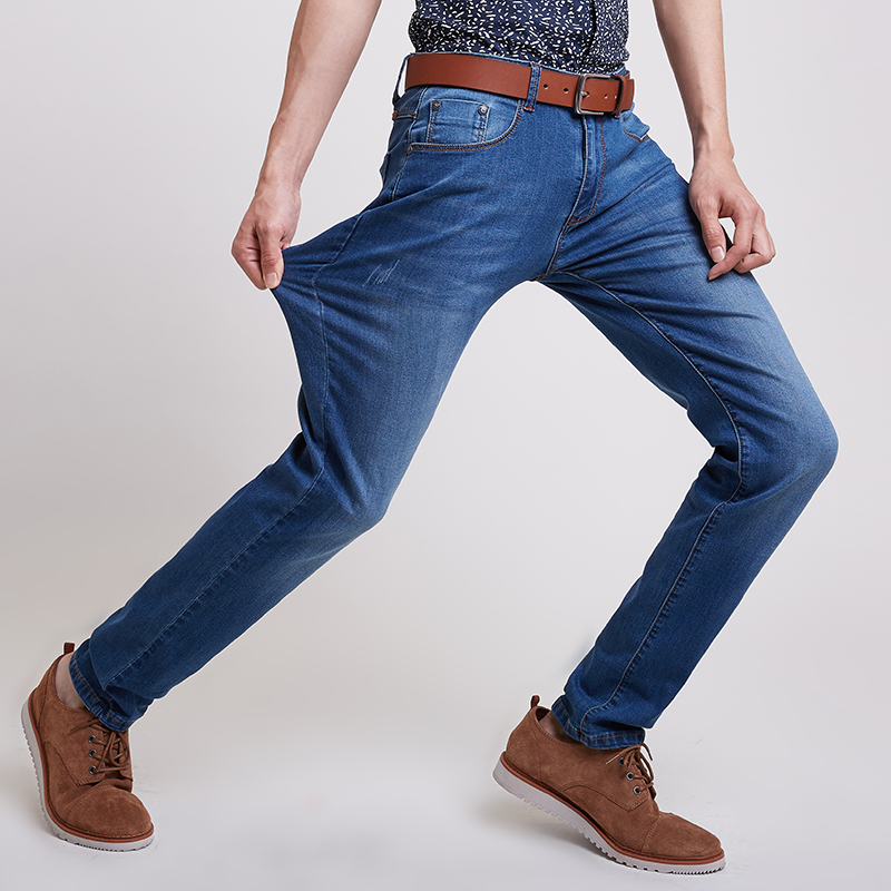 New Arrivals Mens Slim Ripped Jeans Denim Hombre Straight Stretch Hot Sale Mens Clothing Plus Size 28-38#YF3816Одежда и ак�е��уары<br><br><br>Aliexpress