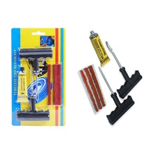 New Professional Auto Car Tire Repair Kit Car Bike Auto Tubeless Tire Tyre Puncture Plug Repair Tool Kit Tool Car Accessories(China)
