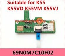 Buy asus button board and get free shipping on aliexpress reboto for asus k55 k55vd k55vj k55vm power button switch button board with cable freerunsca Images