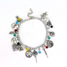 Wholesale Game of Thrones unisex charm bracelet Hand of the King Targaryen Dragon Badge Winter Is Coming wolf Drop Shipping