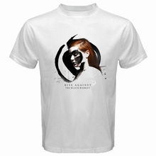 New RISE AGAINST The Black Market Rock Band Men's White T-Shirt Size S To 2XL Loose Cotton T-Shirts for Men Cool Tops T Shirts