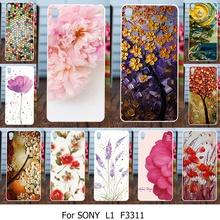 Buy AKABEILA Silicone Case Cover Sony Xperia L1 E6 G3311 G3312 G3313 Dual 5.5 inch Case Soft TPU Hard Plastic Rose Cover for $3.60 in AliExpress store