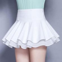 Mujeres Falda corta dulce verano estilo coreano de moda femenina Mini faldas  plisadas mujeres señora ropa pantalones para niña e526262afea0