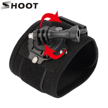 360 Degree Rotation Hand Wrist Strap Mount for Gopro Hero 5 3 4 Session Hero5 Xiaomi Yi 4K SJ4000 Band Arm Belt Go pro Accessory(China)