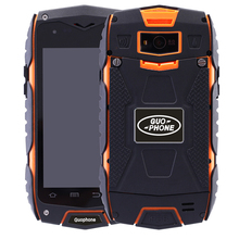 2016 New Outdoor waterproof shockproof GUOPHONE V11 rugged Smartphone Android 5.0 MTK6582 Quad Core GPS Compass mobile phones