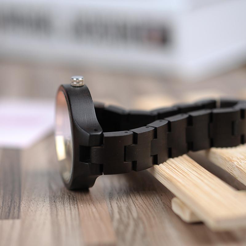 ساعة يد نسائية BOBO BIRD الخشبية الاصلية 7