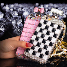 YESPURE Girl Gift Luxury Beige Perfume Bottle Phone Case Women Luxury Case for Iphone  6s