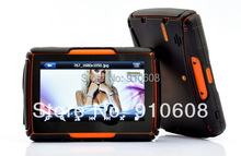 4.3 inch motorcycle GPS,waterproof,4GB memory,128M DDR2 SD RAM,car motorcycle use,different countries maps offered