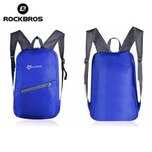 ROCKBROS Cycling Bicycle Bag Ultralight Waterproof Leisure Sports Bags Bike Backpack Breathable Portable Folding Backpack Bag
