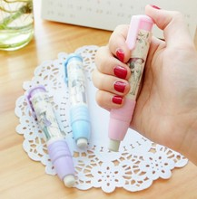New 2016 Fashion Students Pen Shape Eraser Rubber Stationery Kid Gift Toy Cute school supplies
