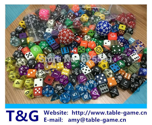 100 pcs/ set,high quality colourful casino Dice Set mixing random colours,random styles and random sizes<br><br>Aliexpress