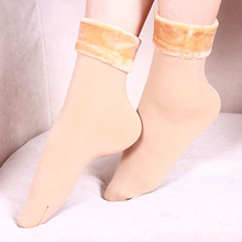 1 pair Women Socks Winter Warm Thicken Socks Wool Home Snow Boots Cotton Socks Female Winter Velvet Floor Socks for Women 2017