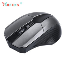 Hot-sale MOSUNX 4 Key Wireless Game Mouse 2.4GHz Mice Optical Mouse Cordless USB Receiver PC Computer for Laptop Gifts Wholesale
