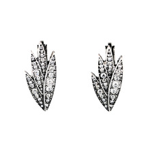 Famous Brand Jewelry 2015 New Arrival Fashion Earrings for Women Hot Selling Bijoux Store Style Datura Ear Cuff Silver Earrings