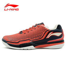 Li-Ning Men's Tennis Shoes Cushioning Breathable Stability Professional Sneakers LiNing Sports Shoes Li-Ning ATAJ005 XYW009(China)