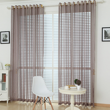 [byetee] Luxury Livingroom Curtain Finished Yarn Curtain Window Curtains Drapes Window Tulle Curtain