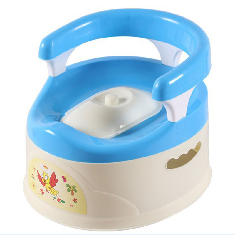 2017 Cute Baby Boys Girls Potty Training Toilet Seat for Children Kids Plastic Non-slip Portable Travel Chair Pee Trainer Pottie<br>