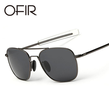 OFIR Polarized Sunglasses Men MILITARY Fashion Optical Lens Aviation Pilot Sun Glasses Hot Ray Shades UV400 oculos de sol(China)