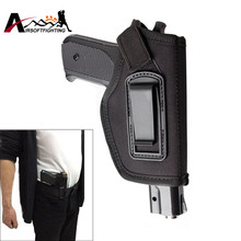 Tactical IWB Holster Inside Waistband Concealed Carry Pistol Holster Fit GLOCK 17 19 22 23 32 33 Ruger for Right Hand Draw