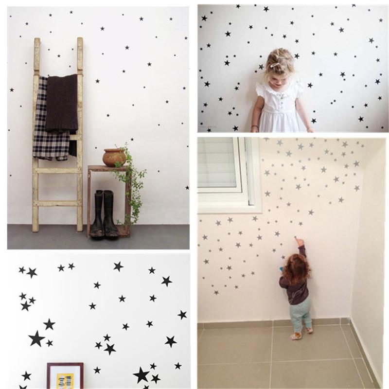 HTB12V24SpXXXXazXpXXq6xXFXXXP 39pcs Stars Pattern Vinyl Wall Art Decals For Kids Rooms