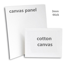 280gsm Blank Painting Canvas Panels MDF  Canvas Panel for Kids & Students Practice (2 pieces price)