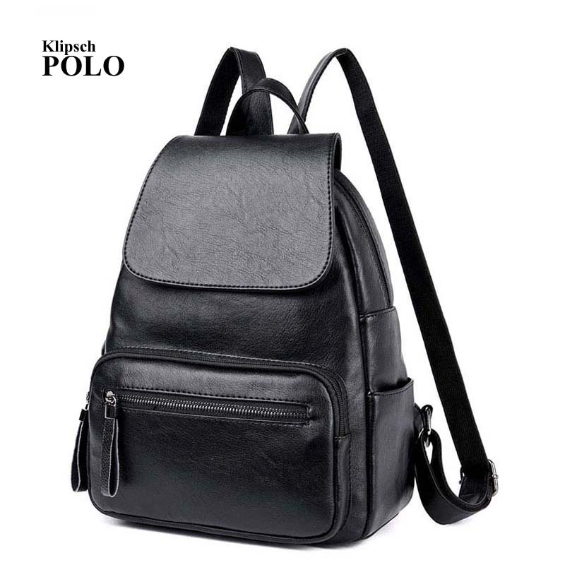 New Arrival Genuine Leather Women Backpacks Fashion Backpacks For Girls Casual Travel Women School Bag<br>