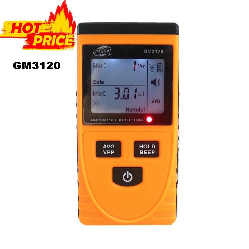 GM3120 LCD Electromagnetic Radiation Detector Tester Radiation Dosimeter Measurement for Computer Mobile Phone<br><br>Aliexpress