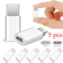 High Quality 5pcs USB-C Type-C to Standard Micro USB Data Charging Adapter For Samsung Galaxy Note 8 For Google Chrome book