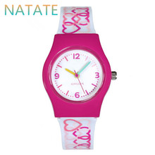 NATATE Women Willis Mini Watches Simple Style Round Dial Analog Wrist Watch Women Brand With Silicone Band 0940
