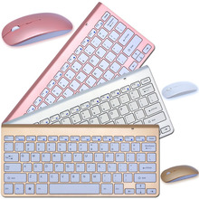 2016 New Design 2.4G Ultra-Thin Wireless Keyboard and Mouse Combo With USB Receiver Mouse Keyboard For Apple PC WindowsXP/7/8/10