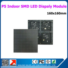 TEEHO 10pcs a lot 32x32 pixels 160x160mm smd rgb full color led display module p5 indoor led advertising sign p5 panel