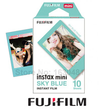 Genuine Fujifilm Instax Mini 8 Sky Blue Film 10 Sheets for Mini 9 70 90 Neo 25 50s 300 Camera Share SP-1 SP-2 Printer Polaroid(Hong Kong)