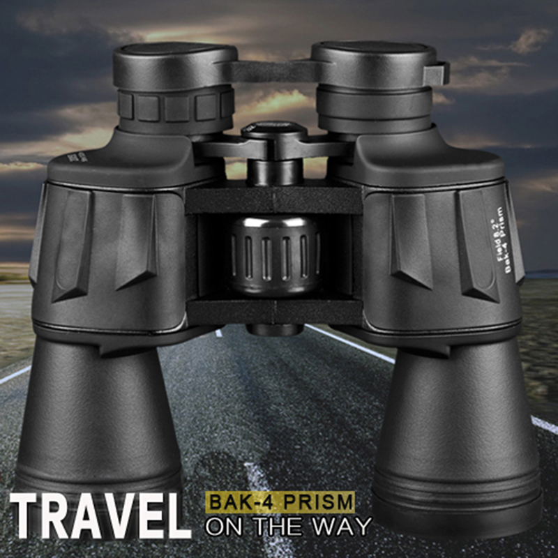 20X50 Binoculars BAK4 Prism Outdoor Camping Hiking Fishing Telescope Low-light-level Telescope Tactical Hunting Binocular<br>