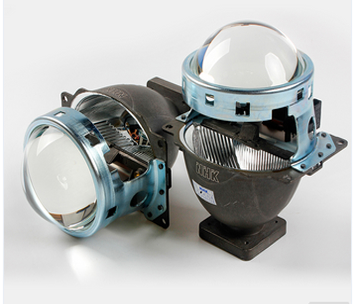 3.0 Inch Q5 Car Bi-Xenon HID Projector Lens For car headlight high low beam American Standard Without HID Bulb<br>