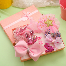 Buy 10PCS/Lot Luxury Children Headbands Safety Hair Clip Bow Crown Flower Barrettes Kids Lovely Gifts Hairpin Girls Hair Accessories for $5.67 in AliExpress store