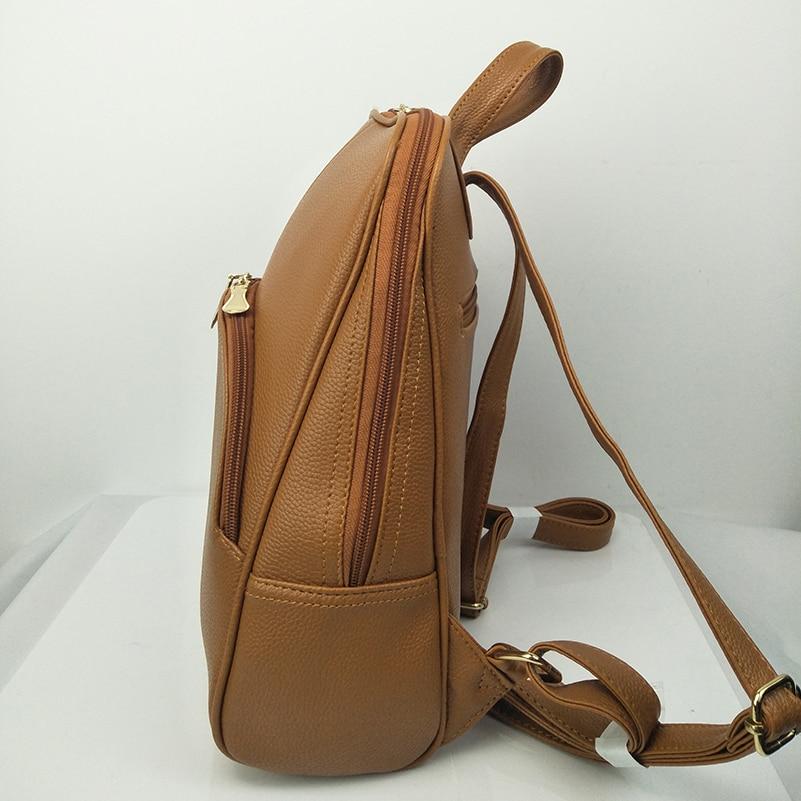 Nevenka Women Backpack Leather Backpacks Softback Bags Brand Name Bag Preppy Style Bag Casual Backpacks Teenagers Backpack Sac19